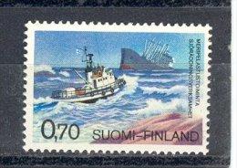 FINLANDE 1975 YT 731     BATEAU   SAUVETAGE EN MER - Finlande