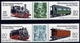 DDR  Mi. 2792/5  Schmalspurbahn III   **/MNH - Trains
