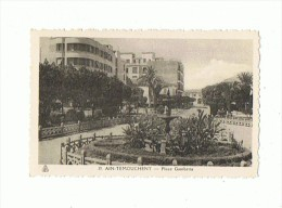CPSM ALGERIE AIN TEMOUCHENT Place Gambetta - Other Cities