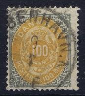DENMARK: Mi Nr 31  I Y A Used Obl.  1875 - 1864-04 (Christian IX)