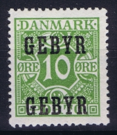 DENMARK: Gebyr  Mi Nr 14 MNH/** Postfrisch - Fiscali