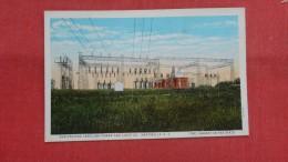 - South Carolina>  Hartsville-- Sub Station  Carolina Power & Light- back side paper residue from album   =  ref --2058