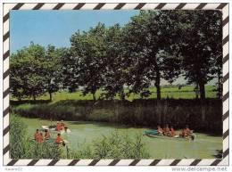 T611 VIAS SUR MER PROMENADE SUR LE CANAL DU MIDI 1975 2 SCANS - France