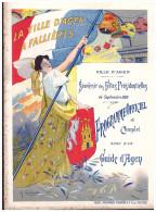 Plaquette SOUVENIR DES FETES PRESIDENTIELLES  ( à FALLIERES) Agen Septembre 1905 (PPP1549) - Dépliants Touristiques