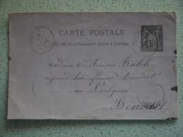 Avant 1900 BENODET  ENVOI A BENODET - Poste & Facteurs