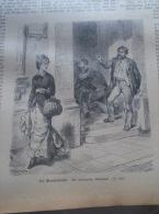 Der Bernsteinsucher   -Rosenthal Ronin -  -  Holzschnitt Gravure 1880  IW1880.208 - Estampes & Gravures