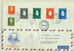 Nederland - 1952 -  Van Riebeeck-serie Op Cover Naar Kimberley, Speciaal Stempel - Periode 1949-1980 (Juliana)