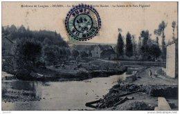 HUMES LA SCIERIE ET LE PARC PIGNEROL 1906 (LOT AB7) - Autres Communes