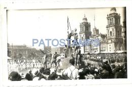 21787 MEXICO HELP SPORTS PARADE DESFILE DEPORTIVO YEAR 1938 12 X 7.5 CM PHOTO NO POSTAL POSTCARD - Motos