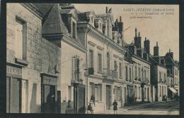 SAINT AVERTIN - Grande Rue Et Mairie (animation) - Saint-Avertin