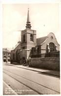CARTOLINA - YPRES - ST. GEORE'S ENGLISH CHURCH. - BINARI TRAM - Belgio