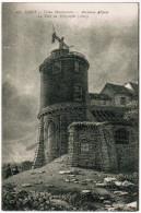 CPA Paris, Vieux Montmartre, Ancienne Abbaye, La Tour Du Télégraphe (pk24907) - Louvre