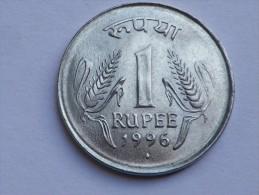 INDE  1 RUPEE  1996   KM 92.2  SUP UNC - India