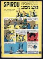"""SPIROU N° 1117 -  Année 1959 -  Couverture """" LUCKY LUKE """" De MORRIS. - Spirou Magazine"""