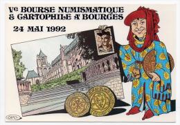 Bourges Cher Salon Cp 1992 état Superbe - Borse E Saloni Del Collezionismo
