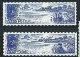 [09] Variété : N° 2601 La Brenne Outremer Au Lieu De Bleu-violet + Normal ** - Varieties: 1980-89 Mint/hinged