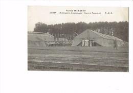 Militaria 60 BORAN GUERRE 1914 -15 Boulangerie De Campagne Fours Panneterie Tente Militaire Soldat Métier Chemin De Fer - Guerra 1914-18