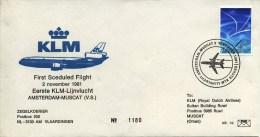 FHE Nr. 39 - 1981 - Blanco - Poste Aérienne