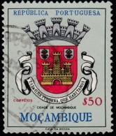 MOZAMBIQUE - Scott #423 Coat Of Arms, Cidade De Mozambique / Used Stamp - Mozambique