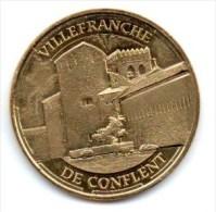 Monnaie De Paris : Villefranche De Conflent 2014 - Monnaie De Paris