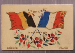 België En Frankrijk Hand In Hand 1915 - Patrióticos