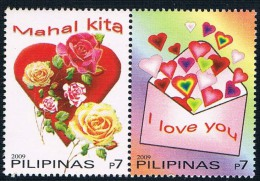 SG0331 Philippines 2 New 0831 Valentine's Day 2009 - Philippines