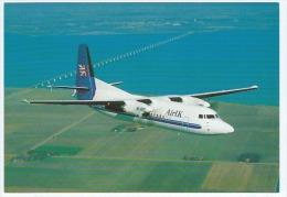 Carte Postale Couleur, Avion, Air UK Fokker 50 G-UKTF, Aviation Civile - 1946-....: Modern Era