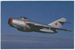 Carte Postale Couleur, Franck B. Mormillo, Avion, Mig-15 N15PE, A Former People's Republic Of China Navy Aircraft, No... - 1946-....: Modern Era