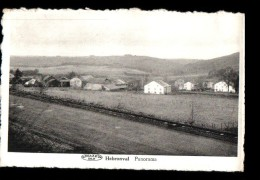 BELGIQUE Hebronval (envs Vielsalm) Vue Générale, Panorama, Ed Préaux, 195? - Vielsalm