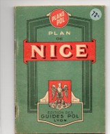510Bf   Livret Plan De Nice - Europe