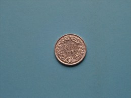 1952 - 1/2 Franc / KM 23 ( Uncleaned - For Grade, Please See Photo ) ! - Suisse