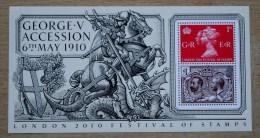 GEORGE V ACCESSION MINIATURE SHEET 2010 - 1952-.... (Elizabeth II)