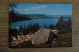 CPA PHOTO ALLEMAGNE TITISEE NEUSTADT CAMPING - Titisee-Neustadt