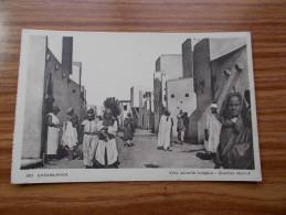 CASABLANCA  Ville Nouvelle Indigène  Quartier Réservé  Années 30/40 - Casablanca