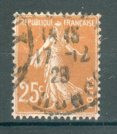 Collection FRANCE ; 1927-31 ; Y&T N° 235 IIIB ; Lot :  ;  Oblitéré - 1906-38 Semeuse Camée