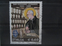 ITALIA USATI 2009 - SAN GIOVANNI LEONARDI  - SASSONE 3097 - RIF. M 0264 - 6. 1946-.. Repubblica