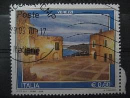 ITALIA USATI 2009 - TURISTICA VAREZZI  - SASSONE 3110 - RIF. M 0267 - 6. 1946-.. Repubblica