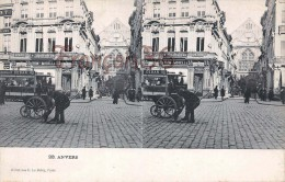 Anvers Antwerpen - Carte Stereo Stereoscopique - 2 SCANS - Antwerpen