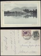 TELESE - BENEVENTO - 1915 - LAGO GRANDE - BELLISSIMO ERINNOFILO COMITATO ROMANO - Benevento