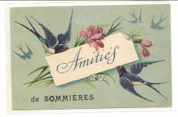 30/ AMitiés De Sommiéres - Carte Ecrite - Sommières