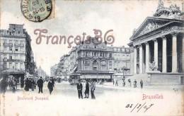 Bruxelles - Boulevard Anspach - 2 SCANS - Avenues, Boulevards