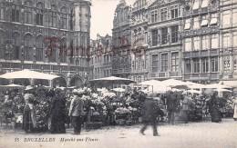 Bruxelles - Marché Aux Fleurs - 2 SCANS - Markten