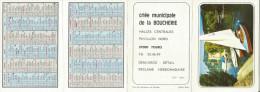 CALENDRIER DE POCHE 1973 - CRIEE MUNICIPALE DE LA BOUCHERIE à TOURS (INDRE ET LOIRE) - Calendriers