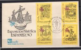 1989 FDC Exposition Espamer (za140) - FDC