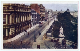 ABERDEEN : UNION TERRACE FROM THE PALACE HOTEL - Aberdeenshire