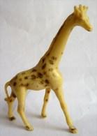 Figurine STARLUX  1953 - ANIMAUX - GIRAFE 703 ZOO Pas Clairet Elastolin Ougen Jim Cyrnos - Starlux