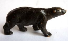 Figurine STARLUX  1953 - ANIMAUX - OURS BRUN 733 (1) ZOO Pas Clairet Elastolin Ougen Jim Cyrnos - Starlux