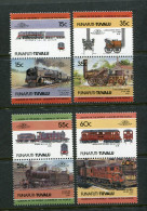 Tuvalu Funafuti: Histor. Lokomotiven 1984; Postfrisch/MNH - Trains