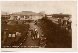 ANGLETERRE THE MARINE GARDENS AND PAVILION FOLKESTONE - Folkestone