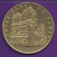 Jeton.-Notre Dame De Paris. Cathedrale Notre-Dame De Paris. Edition 2007. 2 Scans - Souvenirmunten (elongated Coins)